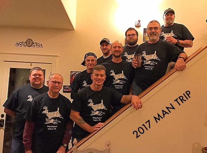 Man Trip 2017 T-Shirt Photo