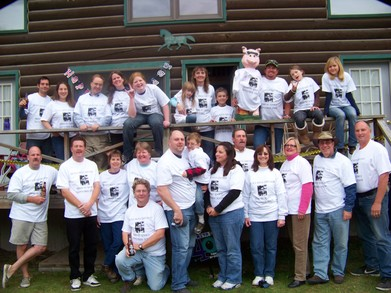 Rita's 40th Birthday At Ridin' Hy Ranch T-Shirt Photo