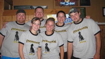 Coonhounds Volleyball T-Shirt Photo
