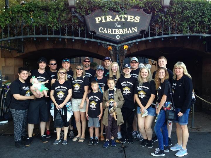 Disneyland Family Reunion T-Shirt Photo