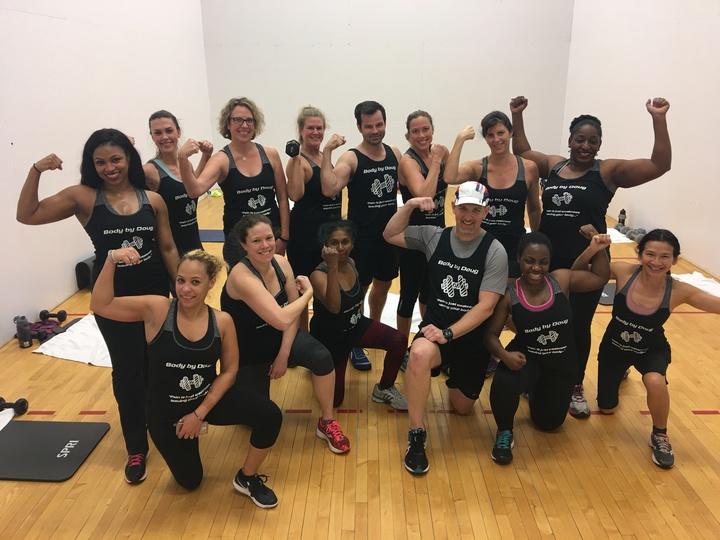 Hiit Class With Doug T-Shirt Photo