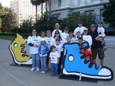 2009 Jdrf Walk To Cure Diabetes   Sacramento T-Shirt Photo