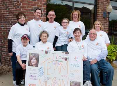 Cure Leukemia! T-Shirt Photo