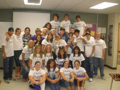 Caro Seniors 2010 T-Shirt Photo