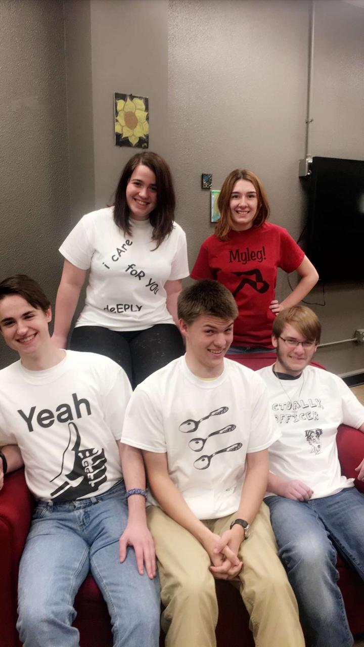 The Festive Friar T-Shirt Photo