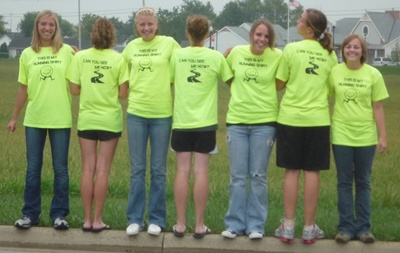 Girls Cross Country Team T-Shirt Photo