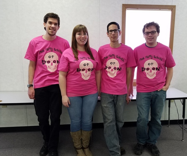 Robotics Team Heading To Competition T-Shirt Photo