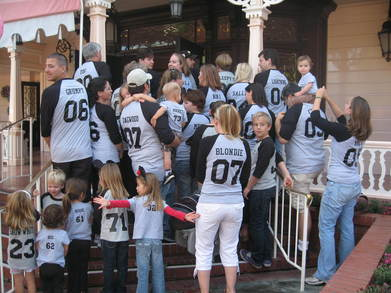 Headley Family Trip To Disneyland T-Shirt Photo