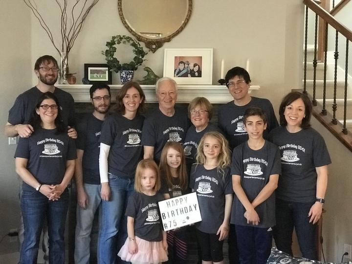 75th Birthday Celebration T Shirt Photo