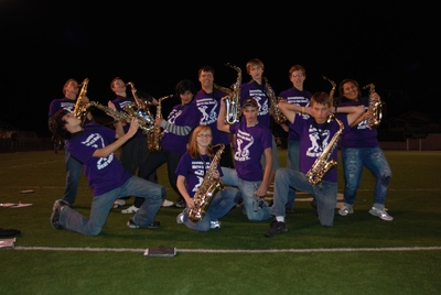 Fhs Marching Bulldog Saxes T-Shirt Photo