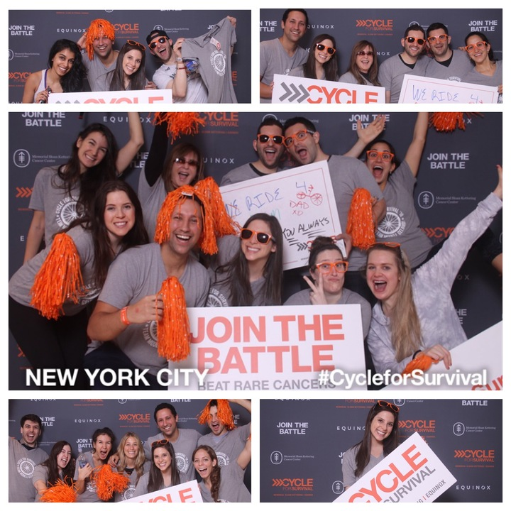 Team Modell Gelbard/Cycle For Survival!!! T-Shirt Photo