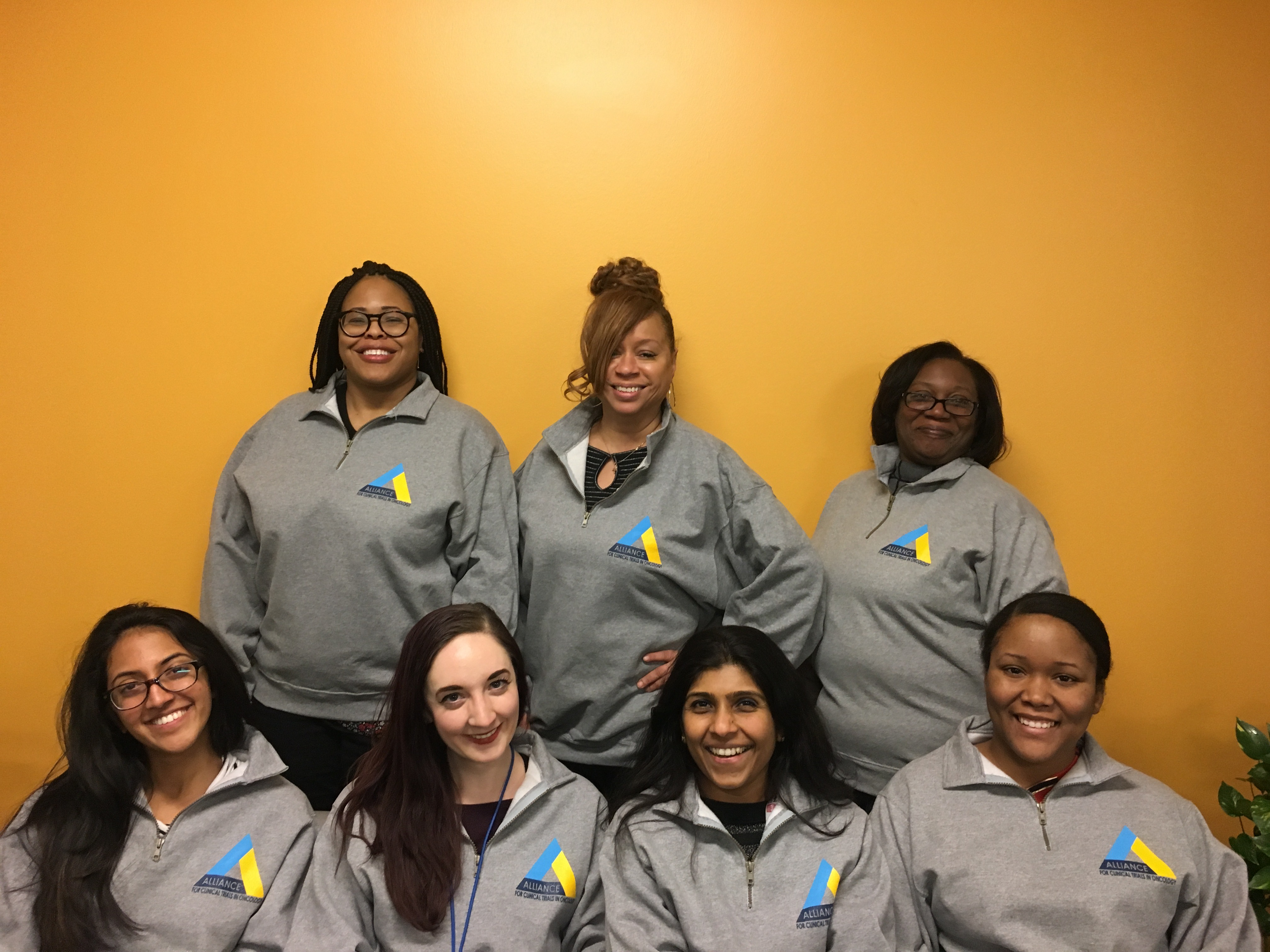 Custom T Shirts For Alliance For Clinical Trials In Oncology Chicago