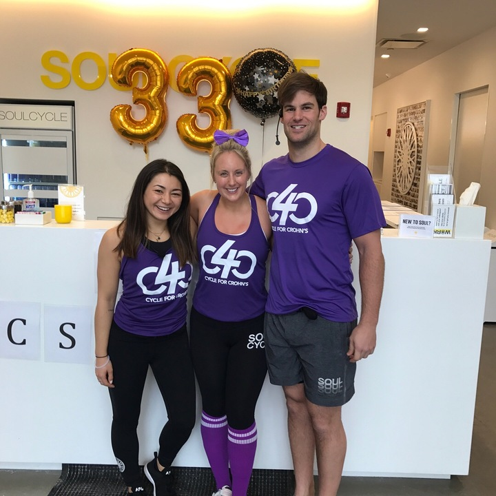 Cycle For Crohn's Charity Event T-Shirt Photo