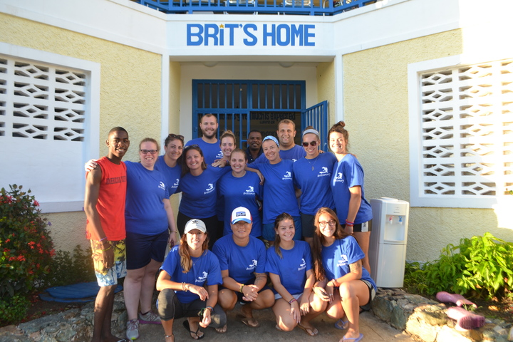 #Love Lives Here At Brit's Home In Haiti! T-Shirt Photo