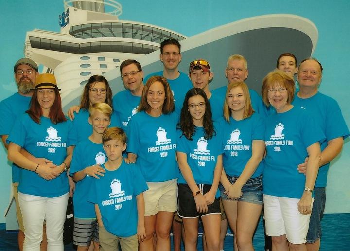 (Not So) Forced Family Fun Cruise! T-Shirt Photo