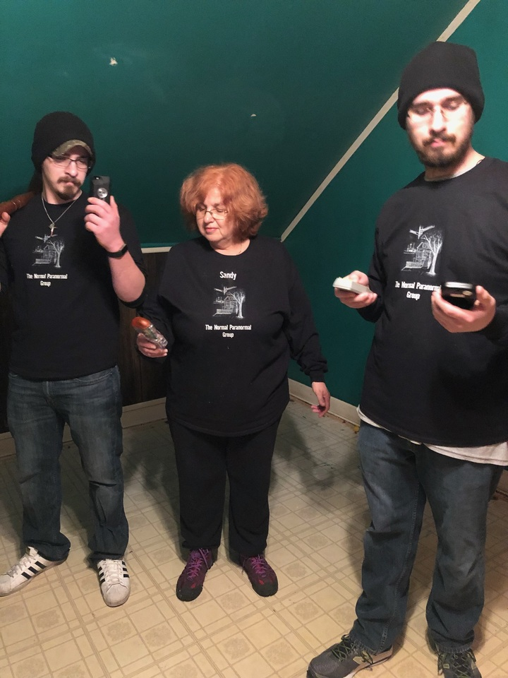 The Normal Paranormal Group T-Shirt Photo