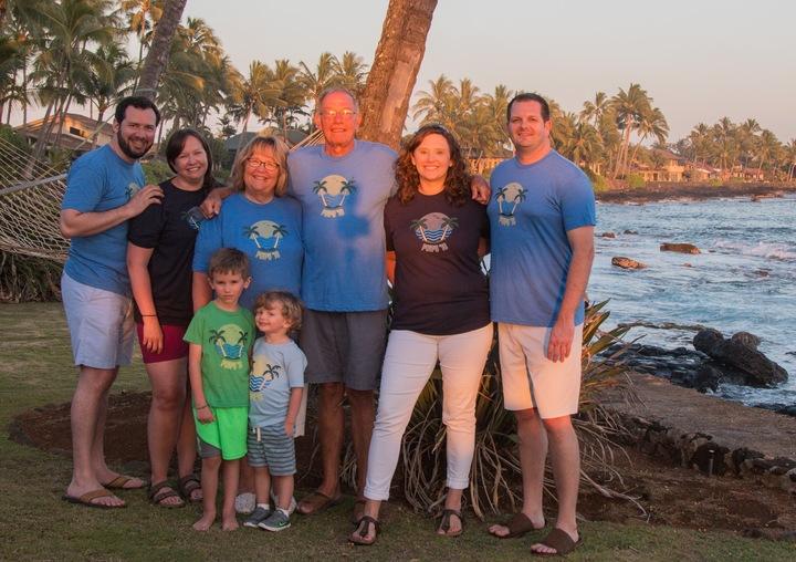 Family Vacation In Hawaii T-Shirt Photo