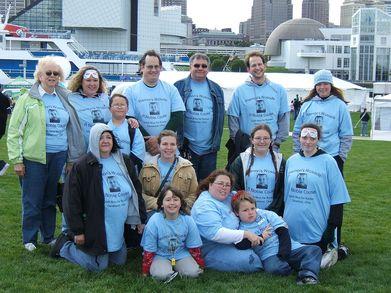 Group Photo For Kiernan's Krusade T-Shirt Photo