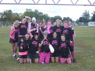 Pink Ladies Win The Tournament!! T-Shirt Photo