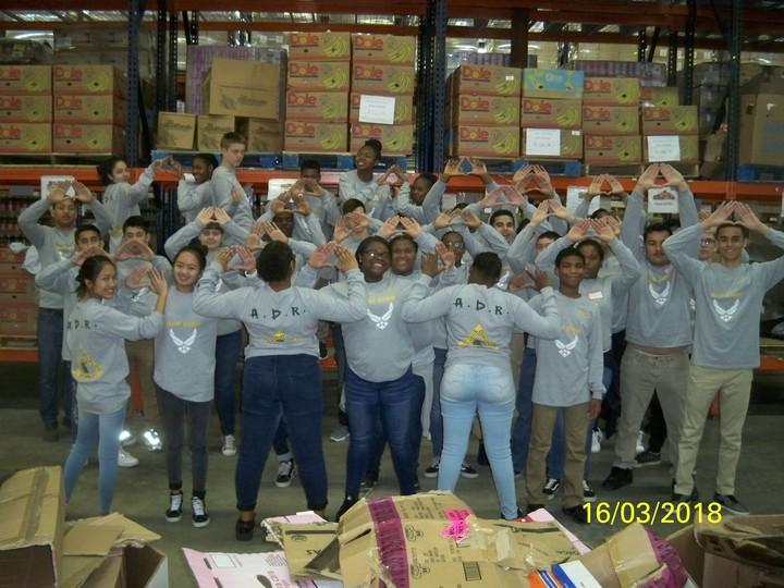 "Nc 074 Cadets Displaying ""Adr"" T-Shirt Photo"