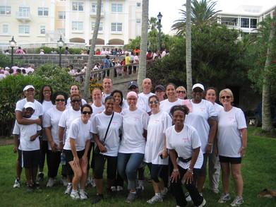 Team Bean Breast Cancer Walk Fundraiser T-Shirt Photo