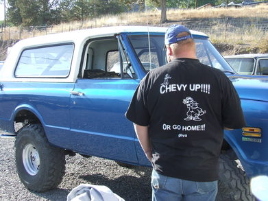 71 K5 Blazer Paint T-Shirt Photo