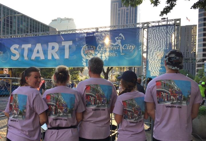 Racing For Health! T-Shirt Photo