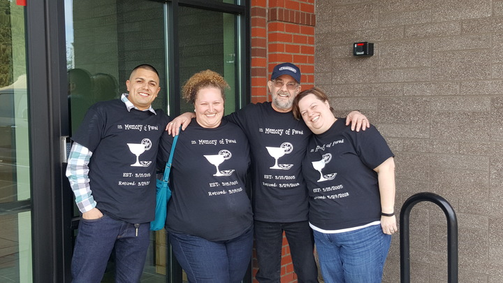 Farewell Fwed, Enjoy Retirement! T-Shirt Photo