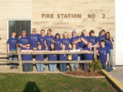 Blue Crew Pays It Forward T-Shirt Photo