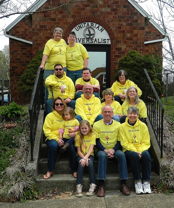 Fundraising Team In Their New Gear T-Shirt Photo
