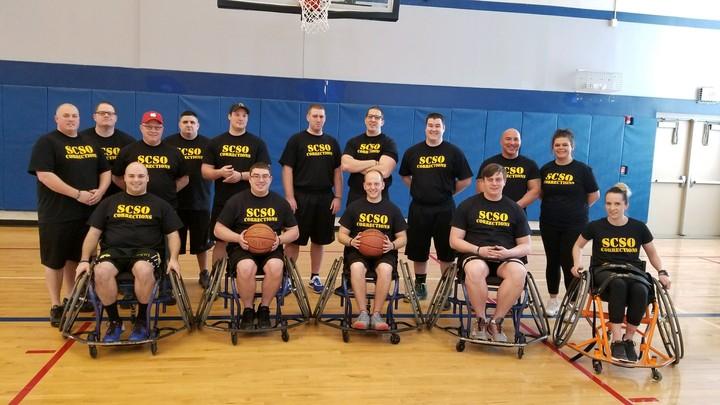 Seneca County Corrections Wheelchair Basketball Tournament T-Shirt Photo