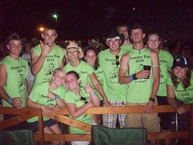 Country Fest 2009 T-Shirt Photo