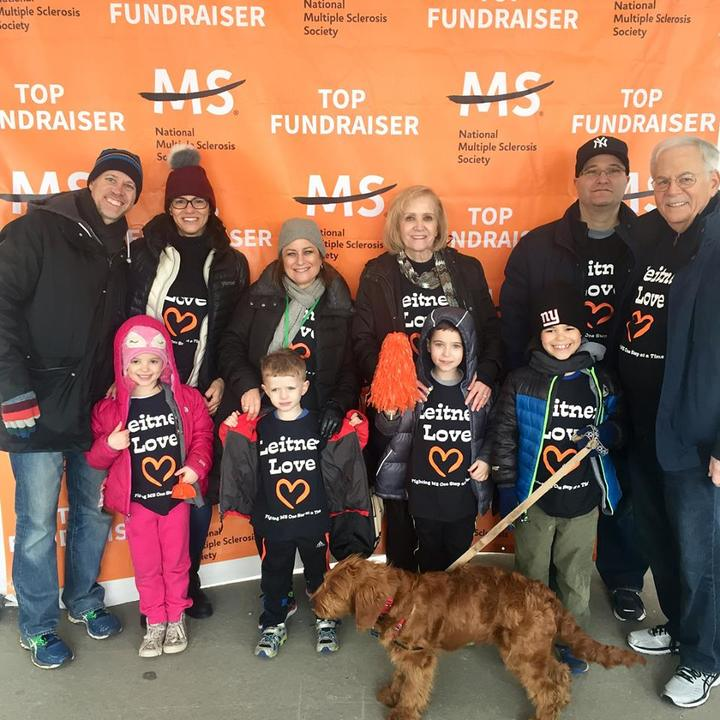 Leitner Love    Fighting Ms One Step At A Time! T-Shirt Photo