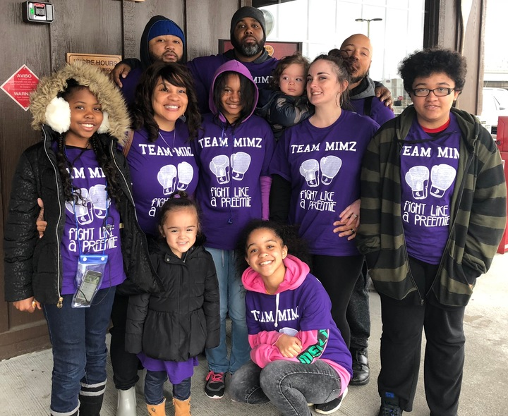 Team Mi Mz  Philly March For Babies  Fight Like A Preemie T-Shirt Photo