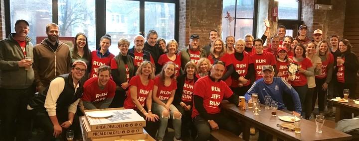 Run Jeff Run! T-Shirt Photo