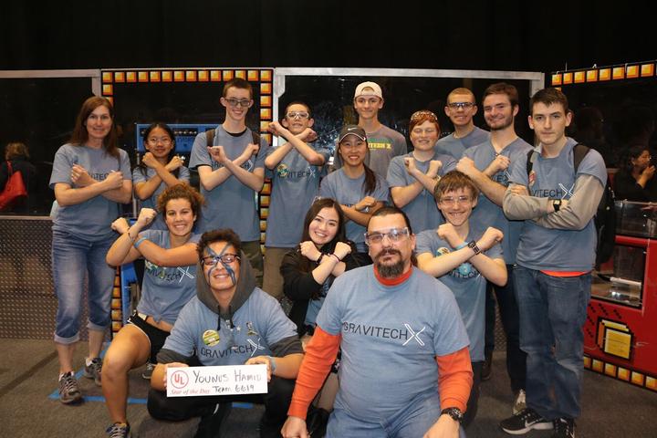Gravitech X First Robotics Team T-Shirt Photo