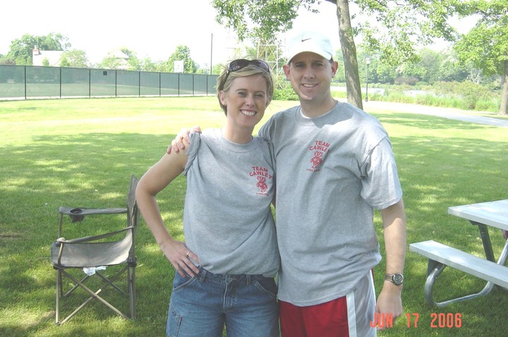 The Heart & Soul Of Team Cawley At The 2006 Liver Walk T-Shirt Photo