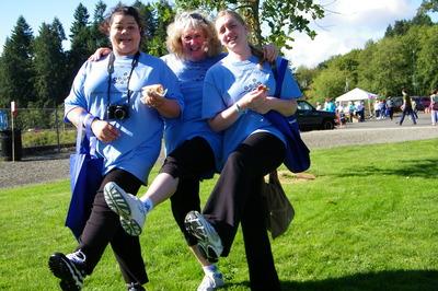 Alzheimer's Walk Team T-Shirt Photo