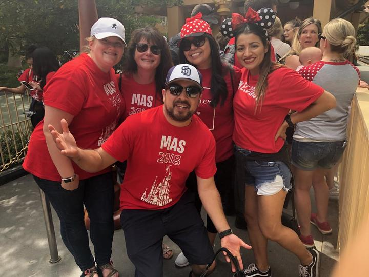 Mas Staff Chaperones Having Fun Too T-Shirt Photo