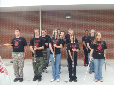 Drill Team 2009 T-Shirt Photo