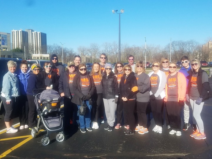 2018 Ms Walk Toledo T Shirt Photo