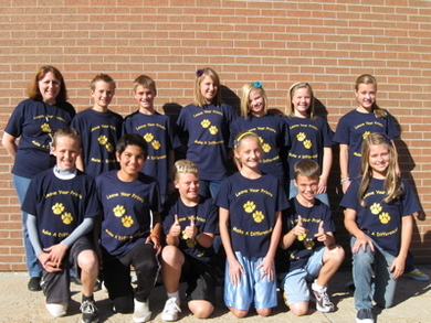 Park Lane Student Council T-Shirt Photo