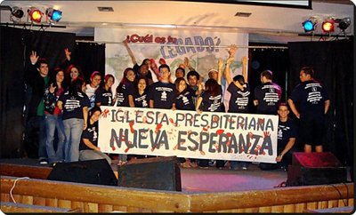Hispanic South Atlantic Presbyterian Youth Retreat 2009 T-Shirt Photo