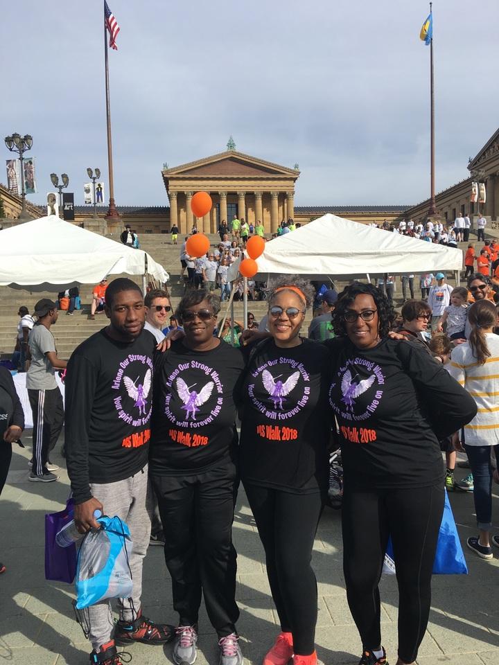 Team Arlene Ms Walk T-Shirt Photo