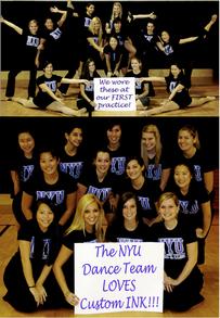 Our First Team Shirts! T-Shirt Photo