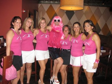 Bosom Buddies For Breast Cancer Awareness T-Shirt Photo
