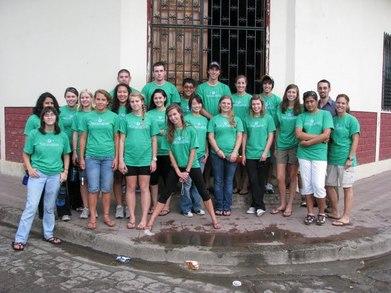 High School Kids Travel To Nicaragua T-Shirt Photo