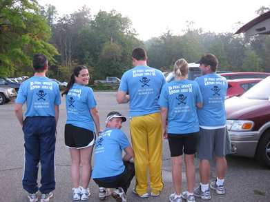 Adventure Race Fun   Back T-Shirt Photo