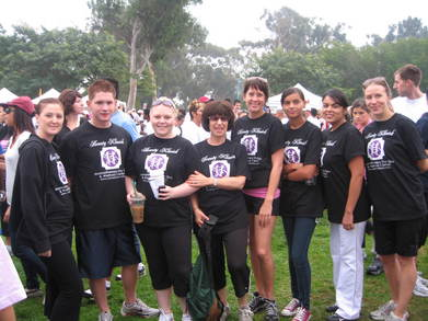 We Made Strides For Breast Cancer T-Shirt Photo