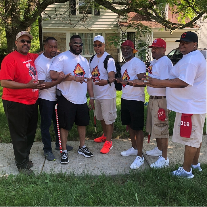 Cleveland Nupes At The Warrensville Heights Memorial Day Parade  T-Shirt Photo